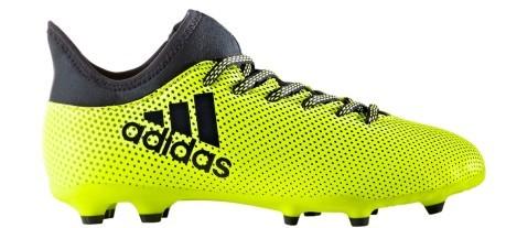 Scarpe Calcio Ragazzo Adidas X 17.3 FG giallo