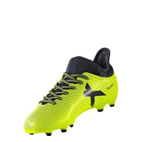 newest collection bdf98 ed1ef Scarpe Calcio Bambino Adidas X 17.3 FG giallo
