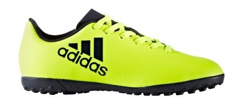 Chaussures de Football Junior Adidas X 17,4 TF jaune