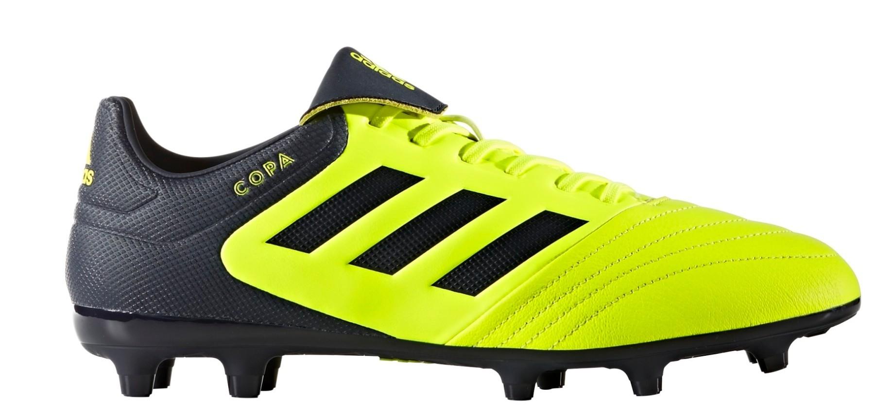 e2b103446fa Football boots Adidas Copa 17.3 FG Ocean Storm Pack colore Yellow - Adidas  - SportIT.com