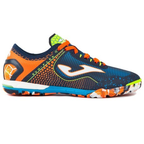 9c2b5f3150f9 Shoes Indoor Football Joma Evo Flex colore Orange Fantasy - Joma ...