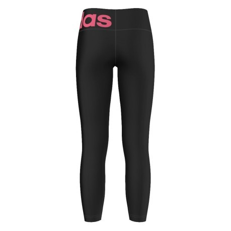 Leggins Bambina Wardrobe Fun Cotton Tight  nero rosa