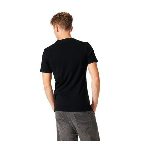 T-Shirt Uomo Soccurf Toungue Label nero fantasia