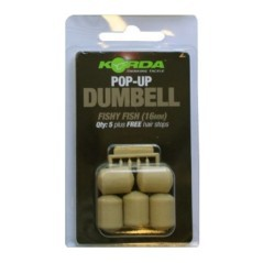Pop-Up Dumbell 16mm blanc