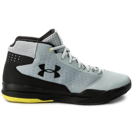 Mens Basketball Shoes Jet 2017 colore Black Grey - Under Armour ... 166acadfb