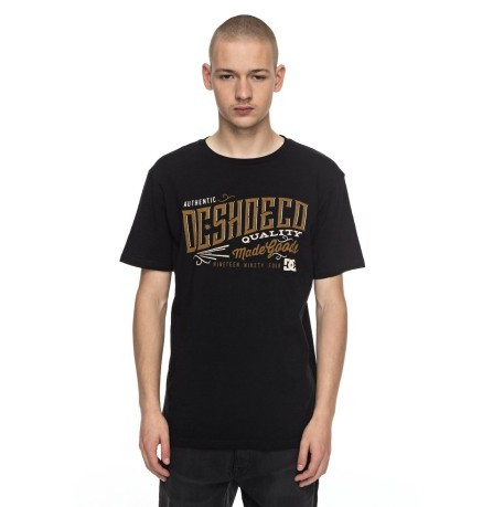 T-Shirt Maniche Lunghe Corporation nero