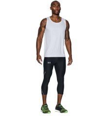 Leggings Uomo Running UA No Breaks Run ¾  nero