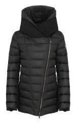 Quilted Jacket Ladies Effect Scuba