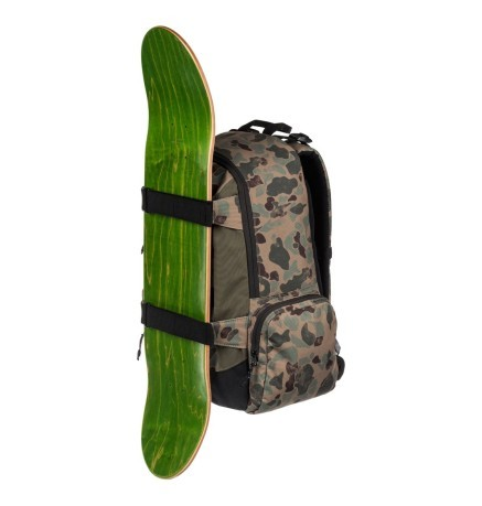 Zaino Uomo The Breed Medium Skatepack verde fantasia