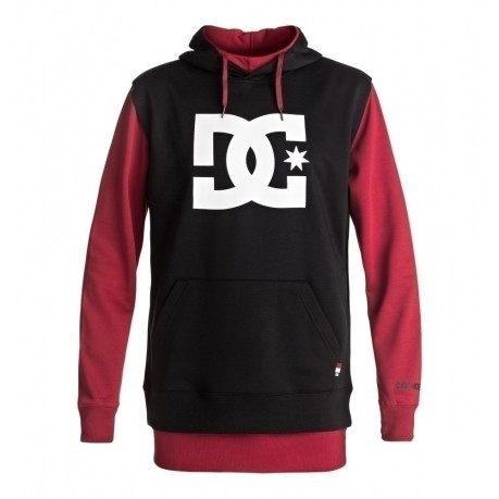 804ba529f2 Men's Sweatshirt With Double Hood Dryden colore Red - Dc Shoes ...