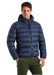 Daunenjacke Herren Buddy Super Light blau modell