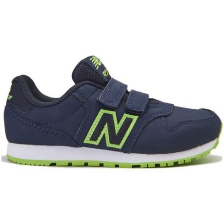 new balance 500 niño verde