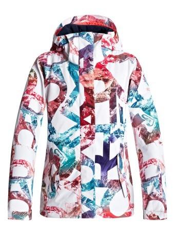 Giacca Bianco Colore Roxy Fantasia Donna Snowboard w1zxwq7T