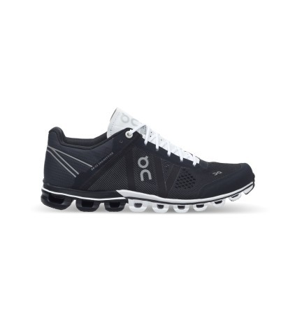 Shoe Woman Running Cloudflow A3 colore Black White - On - SportIT.com a5b7f190cc0