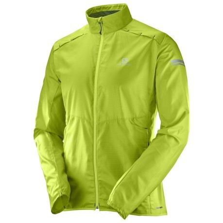 Giacca Running Uomo Agile Wind verde