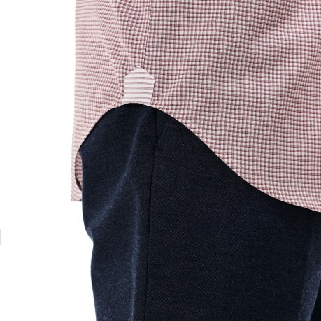Man shirt Poplin Mini Checkered