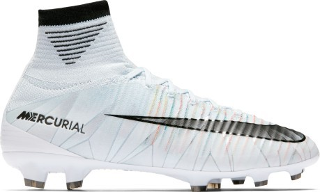 competitive price f3a4f 9fe2a Fútbol zapatos de niño Nike Mercurial Superfly CR7 blanco