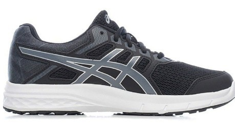 Mens Running Shoes Gel Excite 5 A3 colore Black Silver - Asics ... f061df2421c