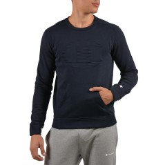 Men's sweatshirt Contemporary Evolution crew neck blue