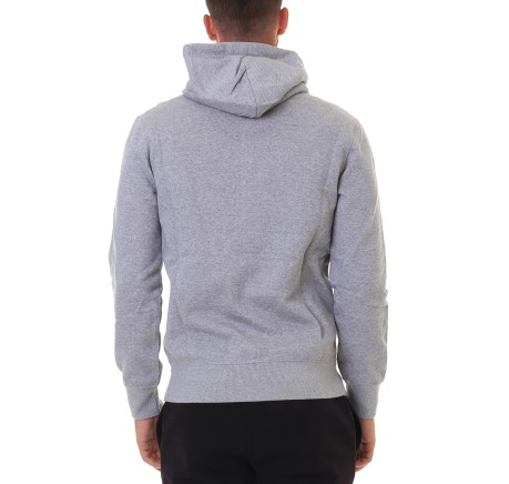 Felpa Uomo Varsit Hooded Full Zip blu