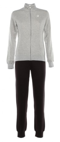 Grigio Donna Colore Tuta Middle Champion Zip Sweats Xwdg6x