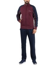 Tuta Uomo Authentic Full Zip con Inserti blu