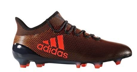 Scarpe calcio Adidas X17.1 FG arancio nere