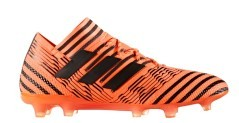Chaussures de football Adidas Nemeziz 17.1 FG orange noir