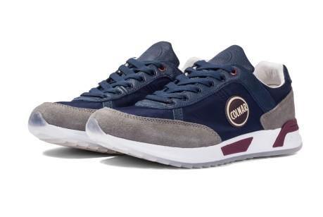 Scarpe Blu Original Colmar Travis Uomo Sneakers Colore Grigio Rwq7CxnO8