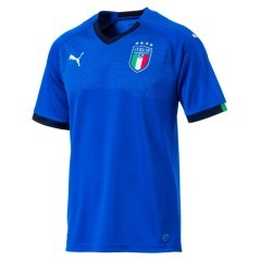 Jersey Italy Home 2017/18 blue