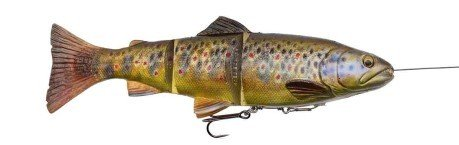 Artificiale 4D Line Thru Trout 180 g 25 cm arancio
