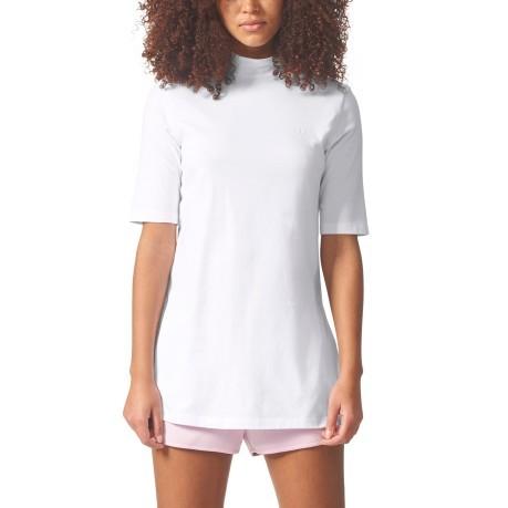 Blanc Femme T Adidas Colore Shirt UqPIIZOYw