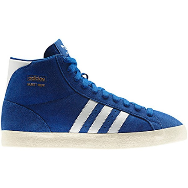 the latest dee8c d4e30 Shoes Basket Profi colore Blue White - Adidas - SportIT.com