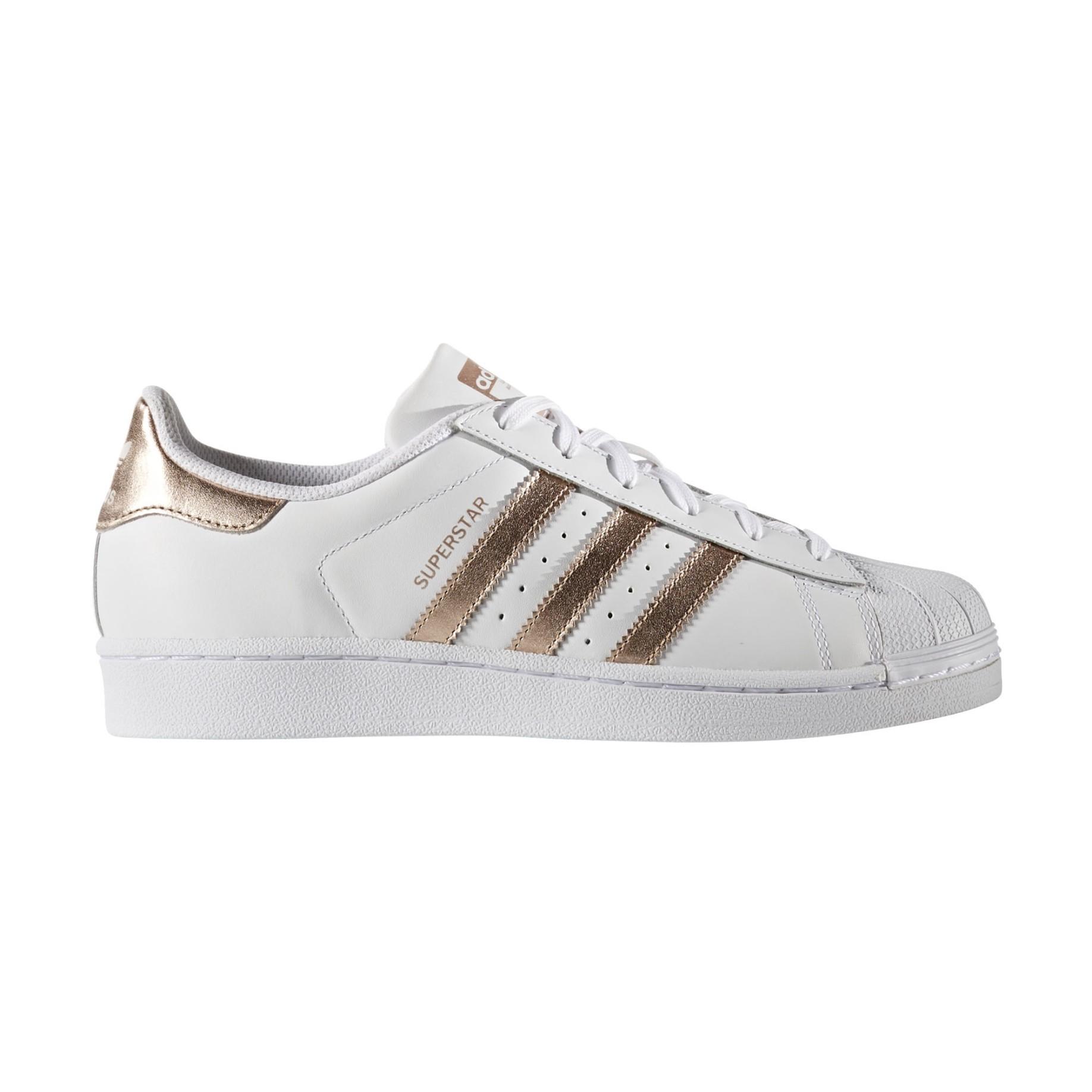scarpe adidas superstar bianco oro