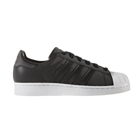 designer fashion dd11c df8ae Shoes SuperStar black white