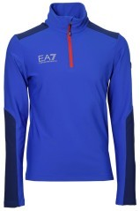 Micropile Uomo Top Race 4 1/2 Zip blu blu