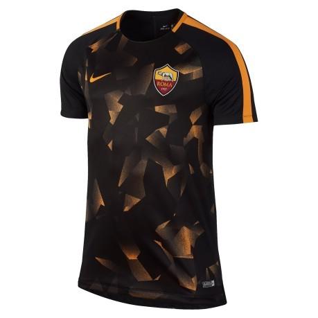 Perso frusta St  Maglia Roma Pre-Match 17/18 colore Nero Arancio - Nike - SportIT.com