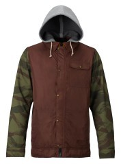 Jacket mens DunMore brown green