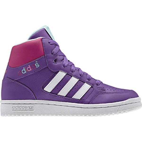 Sneakers Pro Play K colore Violet White - Adidas - SportIT.com 115e54d667f