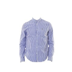 Camicia Uomo Striped Popeline