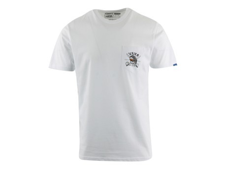 f3233c0bc T-shirt mens Pirate Days colore White - Vans - SportIT.com