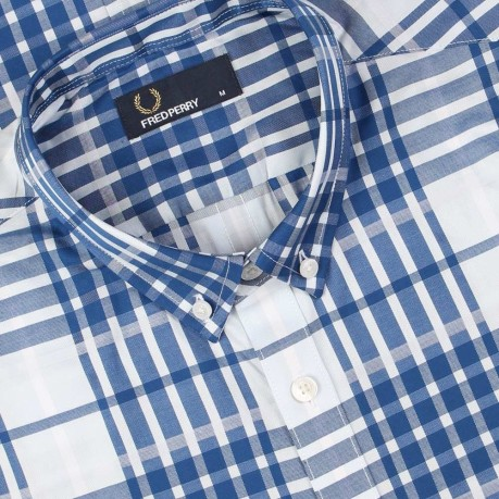 Camicia Twill Check Shirt