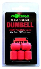 Slow Sinking Dumbell 16mm rosa