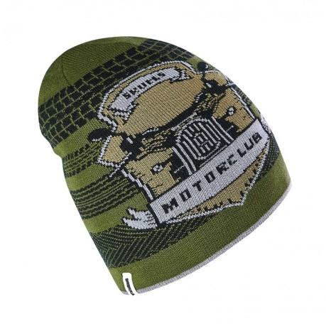 1cc46ff97c87d Baby Hat Reversible Naughty Beanie colore Grey Green - Brekka - SportIT.com