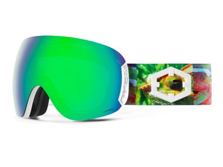 Maschera Snowboard Open Chamelon The One Quarzo