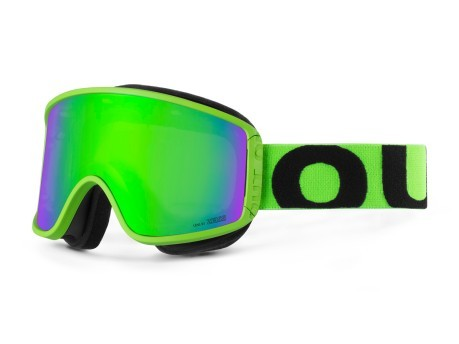 Maschera Snowboard Shift Blackboard Fluo Green MCI