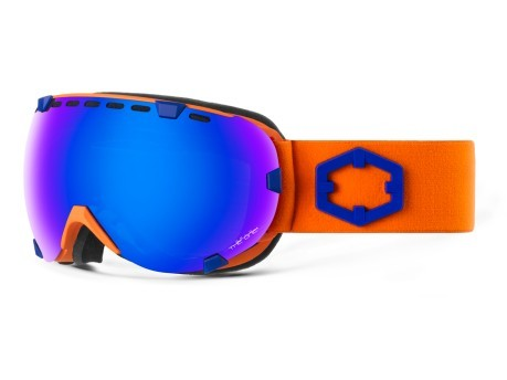 Maschera Snowboard Eyes Blue Orange The One