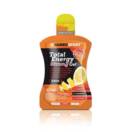 Integratore Total Energy Strong Gel Lemon 40ml