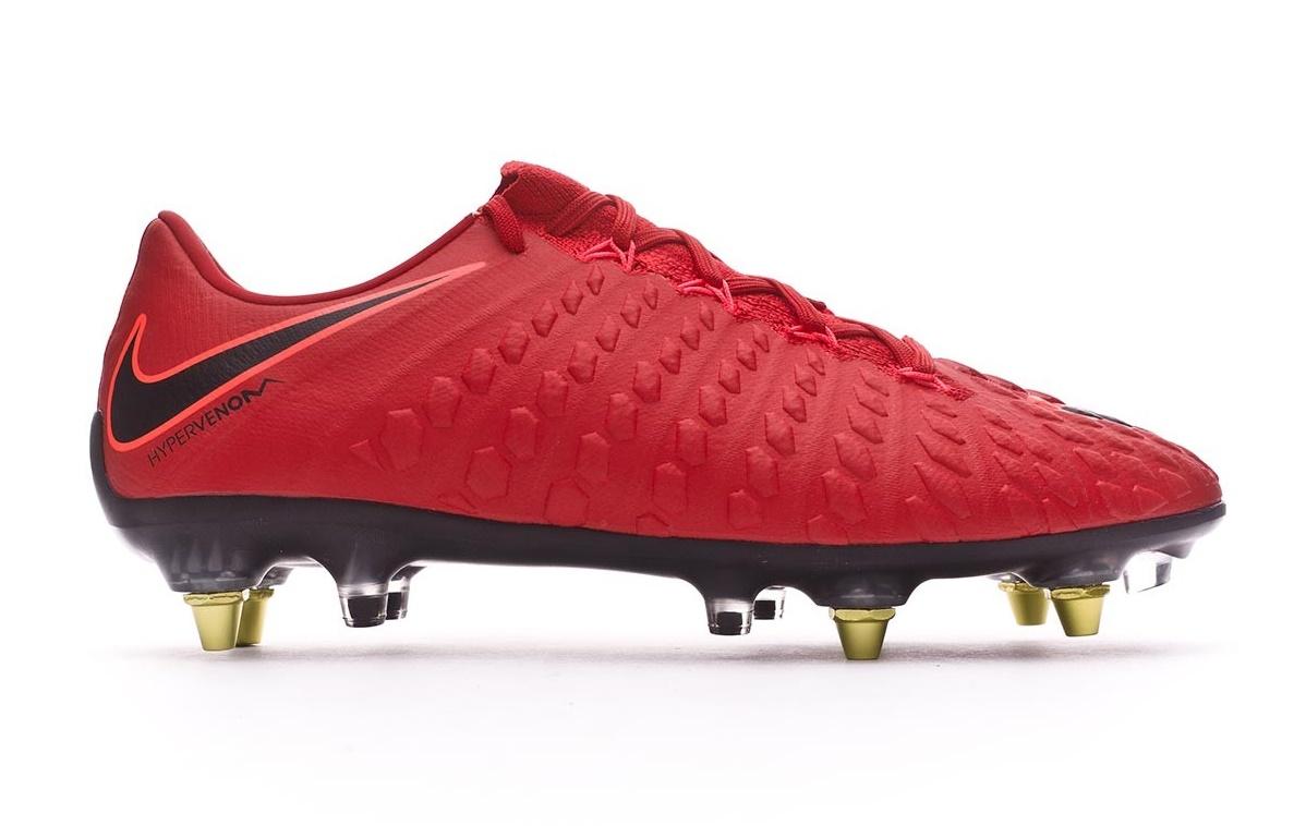 ce667785de60 Football boots Nike Hypervenom Phantom III SG-Pro Fire Pack colore Red  Black - Nike - SportIT.com
