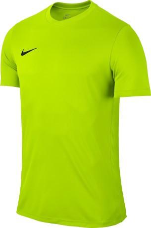 t-shirt nike jaune